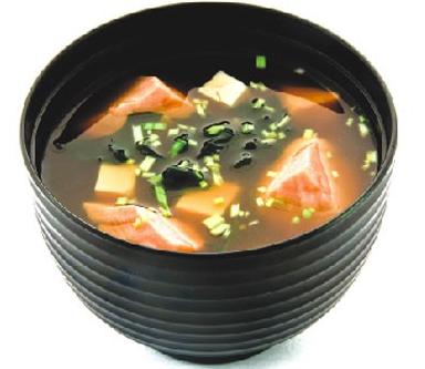 мисо суп с лососем и креветками рецепт с фото